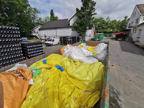 Nes Innkjøpslag har bestemt seg for å fortsette med plastinnsamlingen som en positiv ordning for Nes og Helgøya.