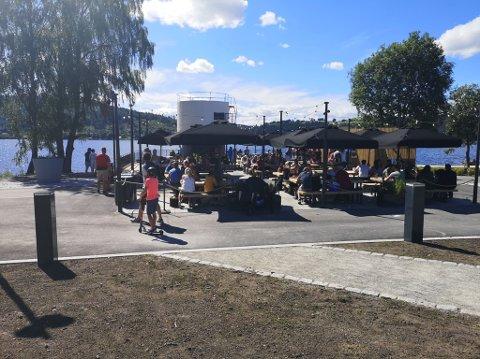 ØNSKER STØRRE OMRÅDE: City Meet & Eat har søkt kommunen om å få et større område å skjenke alkohol på.