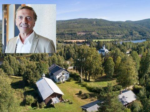 NY EIER: Ola Mørkved Rinnan har kjøpt prestegården i Stor-Elvdal.