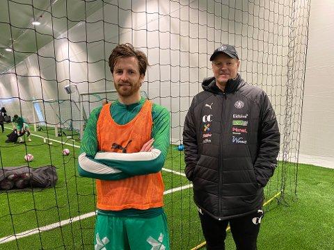 Klar til innsats: Aleksander Melgalvis har signert en toårig avtale med HamKam. Trener Kjetil Rekdal har store forventninger til 31-åringen fra Brumunddal.