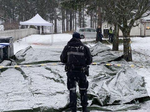 DRAPSFORSØK: Mannen som angrep familiemedlemmet sitt i Brumunddal i fjor, er tiltalt for  drapsforsøk.