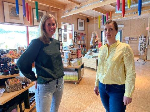 100 000 ekstra til lag og foreninger: Assisterende kultursjef Marthe Sørby (til venstre) og kulturrådgiver Ragnhild Austdal oppfordrer lag og foreninger til å tenke nytt og annerledes for å få nye medlemmer. De setter av 100 000 kroner til formålet.