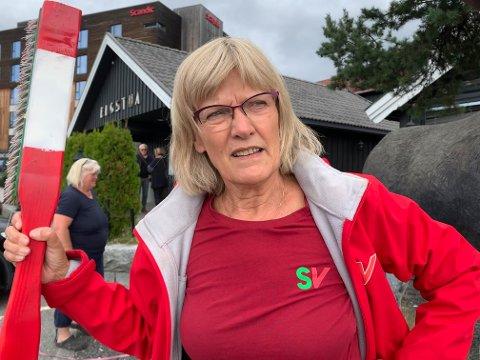 ENDRING: – Vi må finne ut hva Norge skal leve av etter oljen, sier stortingsrepresentant Karin Andersen.
