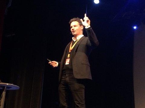 Anders Buchardt er en av dagens foredragsholdere.