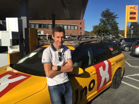 Ny sportslig leder: Kurt Asle Arvesen blir sportslig leder for det nye kontinentallaget som skal eies av Lillehammer Cykleklubb og Ringerike Sykkelklubb.