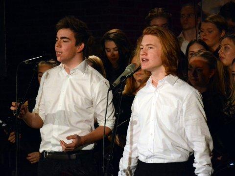 Gard S. Hella og Thomas Kvamme Urnes fra MUA. Leserfoto