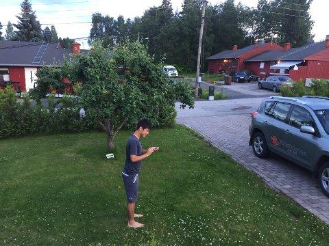 Spillanmeldelerens bror Daniel bidrar i testen av Pokémon Go.