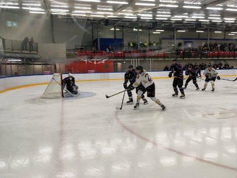 Ringerike Panthers spiller borte mot Grüner fra Oslo.