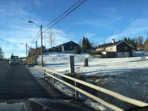 VINTERSTEMNING: Nydelig vintervær i høyden lørdag. Her fra Sollihøgda.