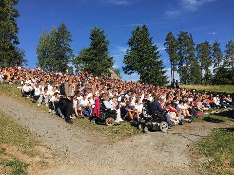 Torsdag åpnet AUFs sommerleir på Utøya.