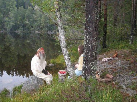 Abraham Isak Rubenstein og Hannah Marie Pryor Mills har de to hovedrollene i teaseren til filmen om Sigurd Viking.