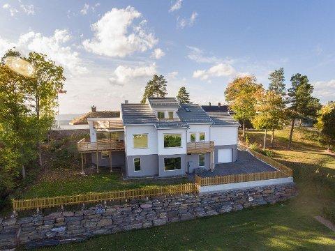 GOD UTSIKT: Med hele fem terrasser er solforholdene optimale.