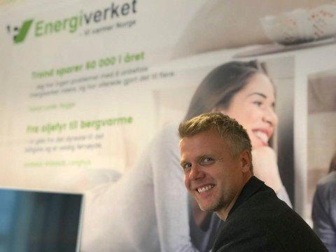 NY LEDERJOBB: Kjetil Skogheim har fått jobb i Drammen.
