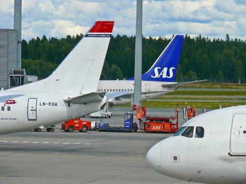 PRISKRIG: Onsdager og torsdager foregår den nye midtuke-kampen mellom SAS og Norwegian.
