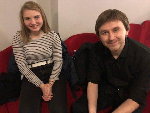 HOVEDROLLE: Tora Dahle Olsen spiller hovedrollen i filmen «Unseen» som er spilt inn i Hønefoss, og regissert av russiske Andrew Ogorodnikov. Han mener filmen ble så bra, fordi han brukte skuespillere uten erfaring.