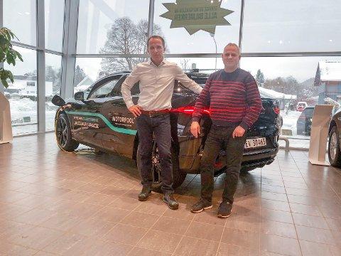 Ny eier: Nils Kjetil Tronrud og Motorpool tar over PCI Bilformidling fra Pål Christian Iversen.