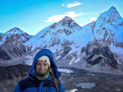 UTVEKSLINGSÅR: Stine Rindal (19) sin interesse for tur ble enda større da hun tok et utvekslingsår i Canada.