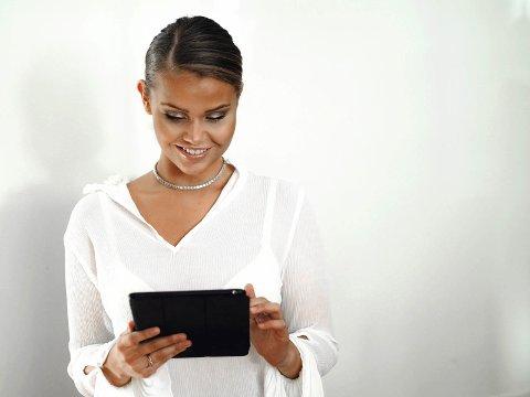AKTIV: Selvom Camilla - foreløpig- har skrevet sitt siste blogginnlegg, er hun fortsatt aktiv på andre sosiale medier.