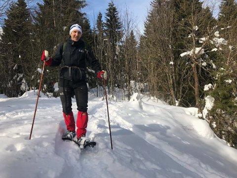 En aktiv dag ute gjør det enklere å legge bort stress og bekymringer, mener Lasse Heimdal i Norsk Friluftsliv. Foto: Norsk Friluftsliv/ANB