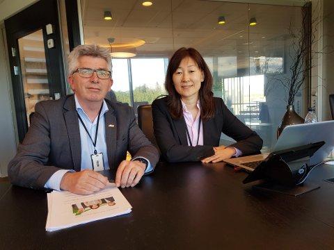 Daglig leder Paal Haakensen og finansdirektør Jane K. Gravbråten er svært godt fornøyde med AKAs resultat for 2017.