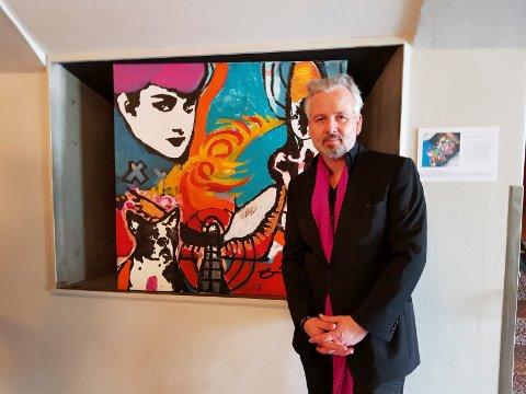 KLEVJER: Lørdag og søndag kommer Ari Behn til Galleri Klevjer med pop up-utstillingen.