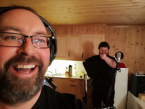 Ole Kristian Odden og Jørgen Tangen Bendikssen er spente på hvordan publikum vil respondere på bandets nye sound.