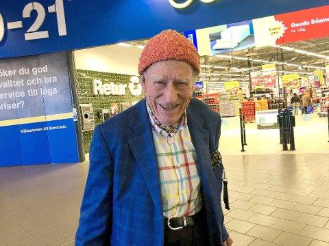 SLÅR FRA SEG: - Ja, jeg er klar til å hjelpe til i en rettssak, sier Olav Thon.