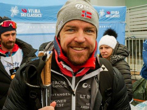 8. PLASS: Tord Asle Gjerdalen klarte ikke å følge opp forrige sesongs suksess i Reistadløpet. Lørdag endte han opp med en 8. plass.