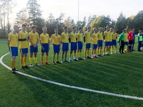 Heradsbygda/HSK G16 møtte Teie fra Nøtterøy i finalen i OBOS-cup.