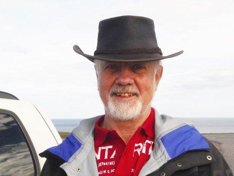 Borgar Giil Andresen (74) var glad i å gå turer.