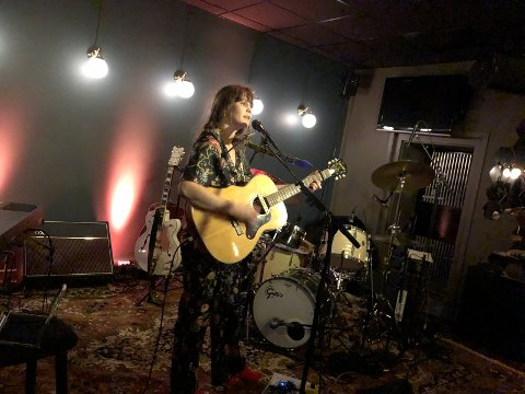 KONSERT: Bildet ble tatt da Ida Jenshus spilte på Eger & Co. i mars.