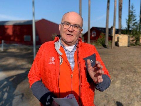 OPTIMIST: Løpsleder Jon Anders Kvisgaard planlegger for gjennomføring av Hytteplanmila med opp mot 3900 deltakere i oktober.
