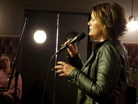 Inderlig: Det ble en varm, flott og inderlig konsert på Eger & Co da Christina Ødegård debuterte som soloartist.