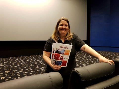 Filmkveld: Kinosjef Katrine Wang Svendsen inviterer ungdom til filmkveld og pizza 16. mai.