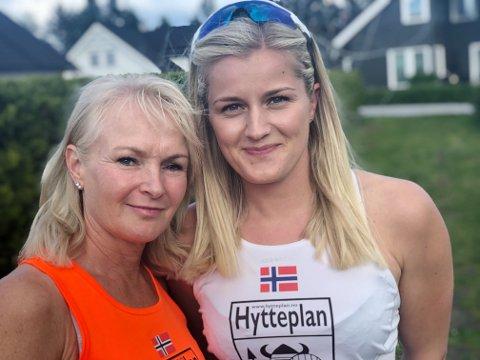 HELE VEIEN: Ringeriksmaraton har betydd mye for Åse og Elin, helt siden oppstarten i 1995.