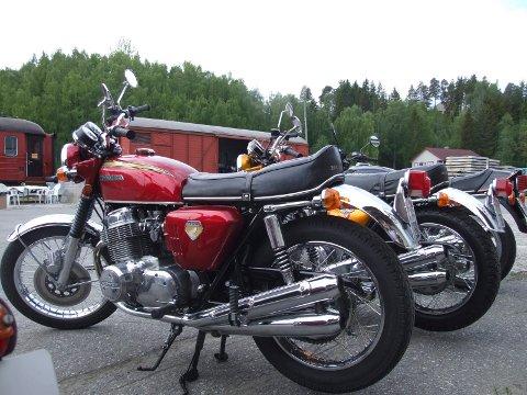 Treff: Lørdag er det MC-treff på Stasjonen i Hønefoss hvor motorsykler i alle aldre vil dukke opp.