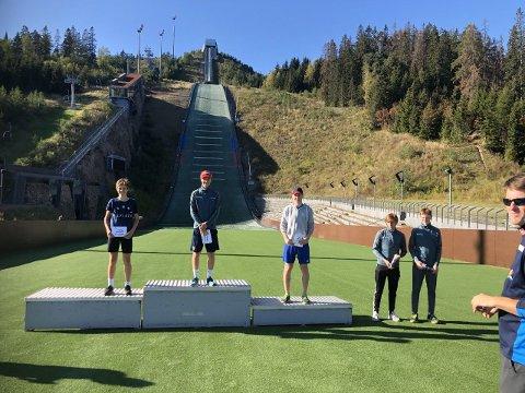 Ole Gudbrand Kihle Gravermoen hoppet seg inn til 3. plass i NC C i Midtstuen