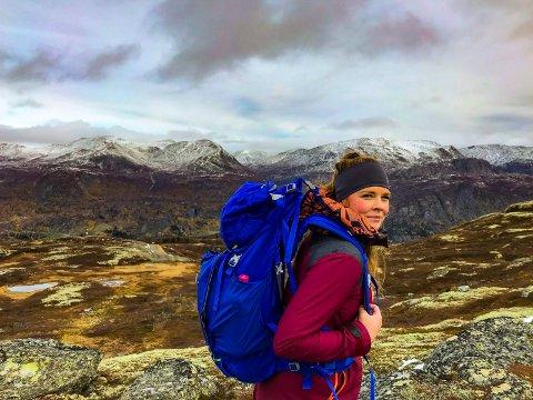 FJELLET: Eelkje Alkemade liker seg ute på tur. Hun liker godt å vandre i norske fjell.