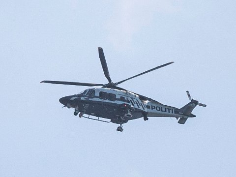 Illustrasjonsbilde av politiets nye AW 169-helikopter.