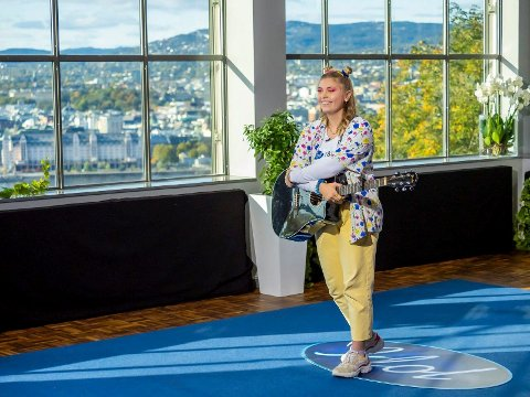 Idol: Marie Skov Clausen fra Røyse er med på årets Idol.