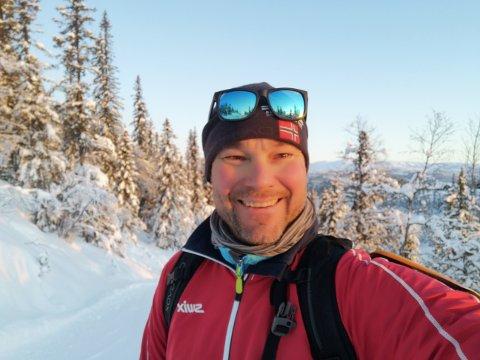 KJØRT SEG FAST: Jo Husby har i romjulen hjulpet flere som kjørte seg fast da Google maps ledet dem på villspor.