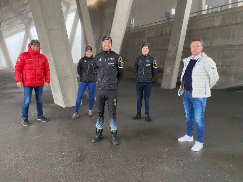 NY SATSING: Tord Asle Gjerdalen skal fortsette å satse på langløp, og har nå lansert et nytt lag med blant andre Nils Kjetil Tronrud og Erlend Søraker som støttespillere.