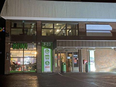 STENGT: Kiwi på Jevnaker måtte stenge.