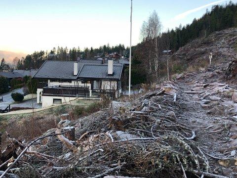 VANN INN: Boligen i Daniel Hansens vei i Kleivlia fikk vann inn i kjelleren. Nå skal retten ta stilling til hvorfor.