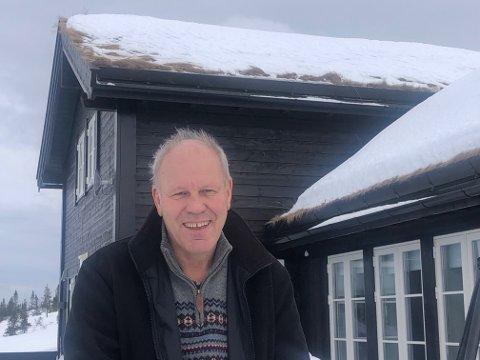STØRRE HYTTER: – Det må åpnes opp for å kunne bygge større hytter på Vikerfjell, oppfordrer Ivar Gunnar Lia.