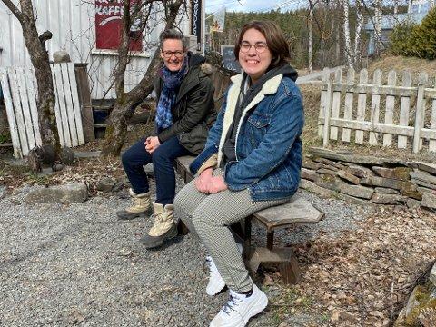 LÆRER OG ELEV: Tove Hirth og Live Røseth Hansen har et sjeldent møte nå i disse korona-tider.