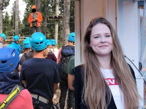 AKTIV SOMMER: For femte gang arrangerer Hole ungdomsfrivilligsentral Akti Sommer for ungdom. Eelkje Alkemade håper også i år at ferieuken  blir en suksess.