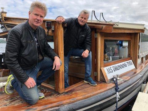 FORTSATT HÅP: - Vi har fortsatt håp om få gjennomført noen turer på slutten av sommeren og utover høsten, sier Ragnar Braata og Harald Gårdvik.