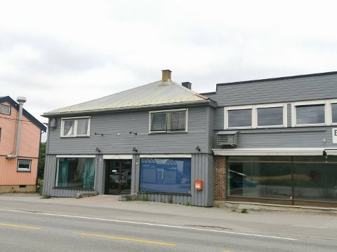 TOMME LOKALER: Her drev Nina og Jan-Anders Maaø-Ruden barnebutikken Kos med kidsa.