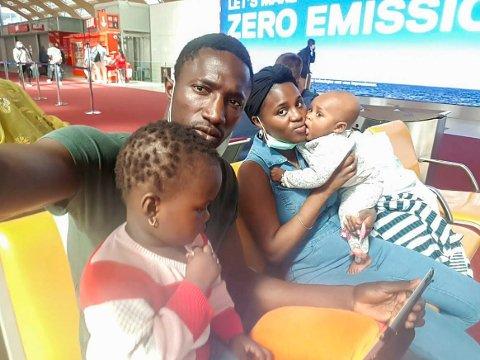 SENDT UT: Ibrahima Dramé har nå forlatt Hønefoss etter at han og familien ikke fikk opphold i Norge. Ibrahima er nå bekymret for familiens framtid i Senegal.